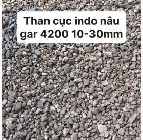Than cục indo nâu gar 4200 10-30mm